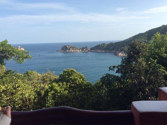 Baan Talay Koh Tao: Vista desde la habitación