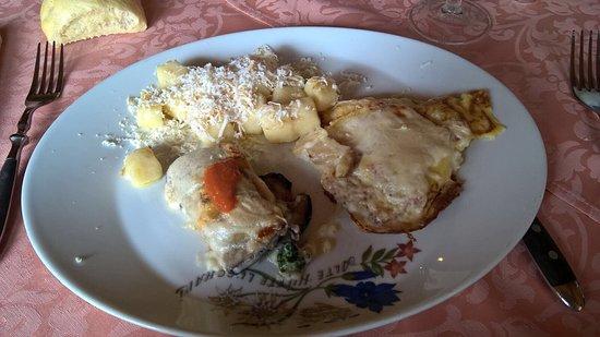 Camporosso in Valcanale, Italië: Tris di primi
