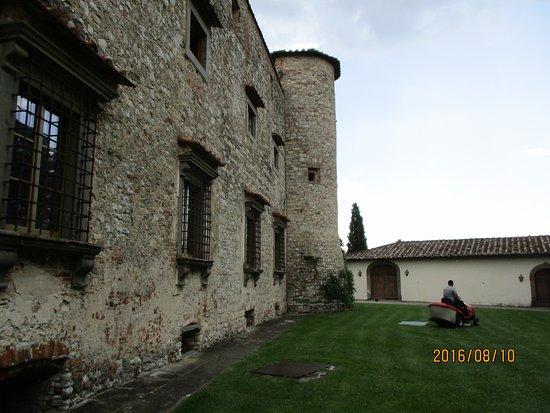 Gaiole in Chianti, Italien: around the castle