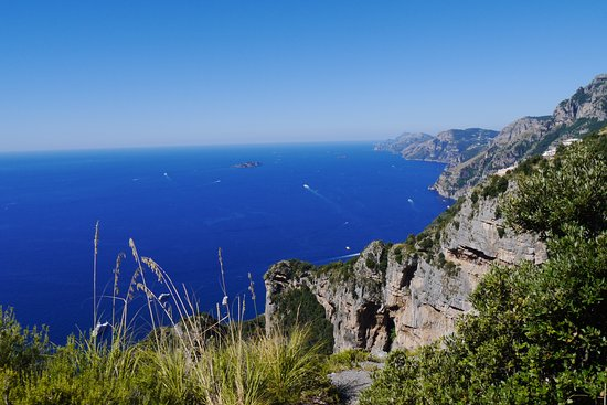 View from the Path of God  Amalfi Coast  Picture of Sentiero