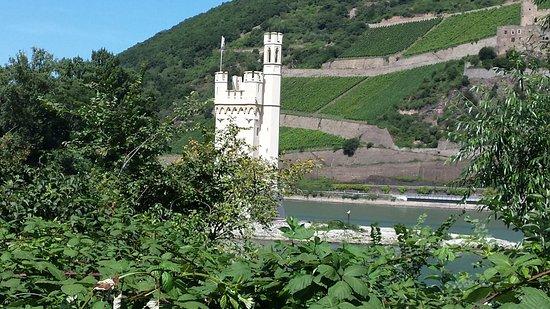 Bingen am Rhein, Niemcy: Mäuseturm