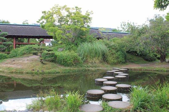 pas japonais picture of jardin japonais nantes. Black Bedroom Furniture Sets. Home Design Ideas