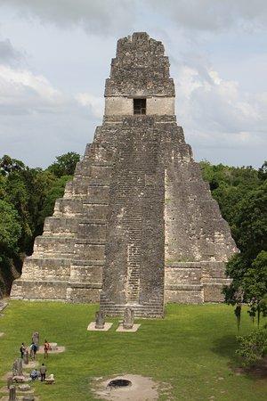Peten, Guatemala: The Temple 1