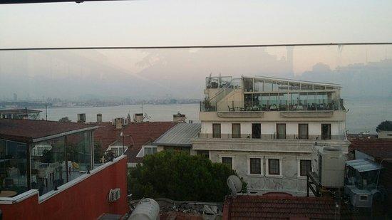 Hotel Seraglio: Vista dal terrazzo