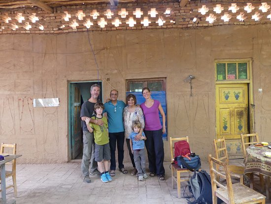 Turpan, Cina: You can even stay here and rent rooms; very basic accomodation