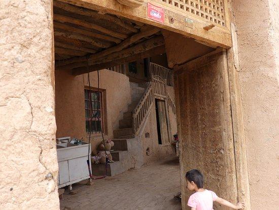 Turpan, Chine : Typical Uyghur home