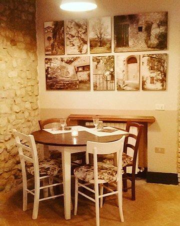 Borghi, İtalya: Sangiovanni Osteria di Confine