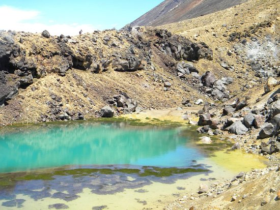 Tongariro National Park, Nya Zeeland: Emeralds lakes