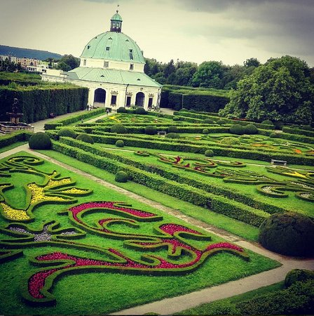Kromeriz, République tchèque : Zahrada