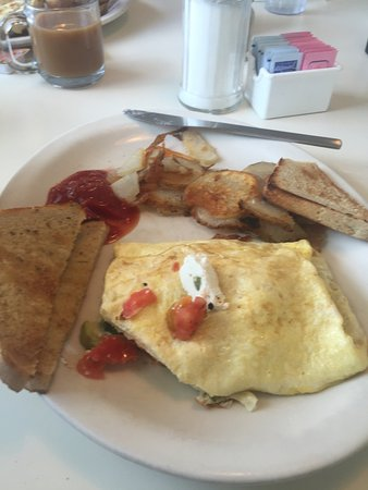 Clarks Summit, Pennsylvanie : Delicious omelets