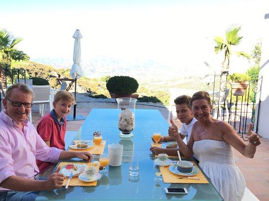 Alcaucin, Spanje: Diner-time