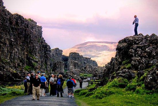 Thingvellir National Park - The Law Rock (Logberg)