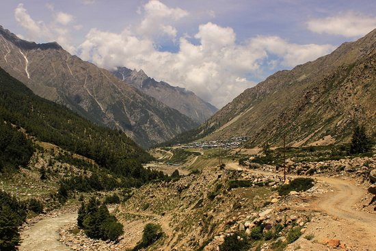 Sangla, Indien: Chitkul from Indian Checkpost