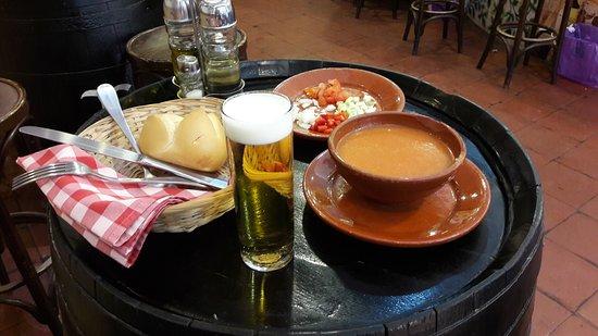 La Campana Gorda: Gazpacho andaluz