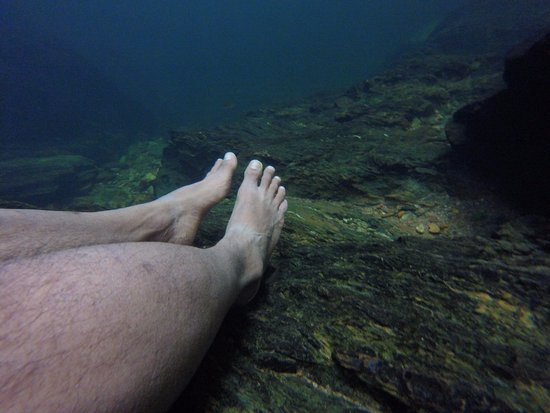 Stann Creek, Belize: Also get fish pedicure