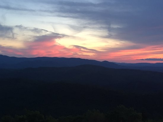 Eaton, NH: Foss Mountain Sunset