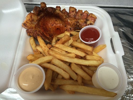 Cositas Ricas Fried Pork Chop With French Fries