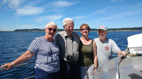 Comox, Canada: Happy Cruisers!