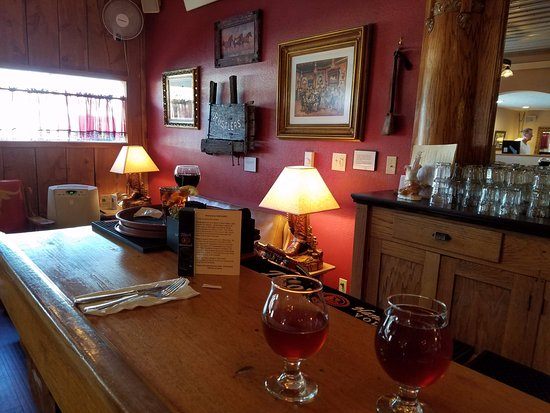 Thayne, WY: From the Bar to a conversation seating area