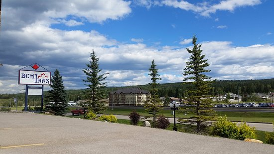 Hinton, Kanada: Great view from our room