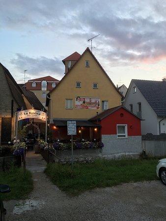 Schnaittach, Tyskland: Biergarten