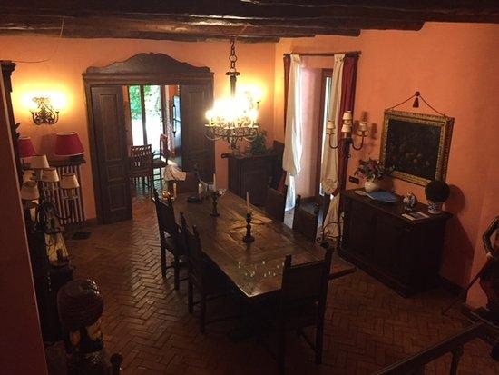 Relais La Torricella: dining area