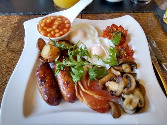 Worton, UK: Dale's breakfast delicious
