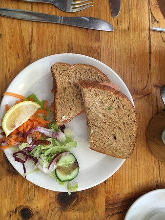 Lovely lunch - gluten free options too!