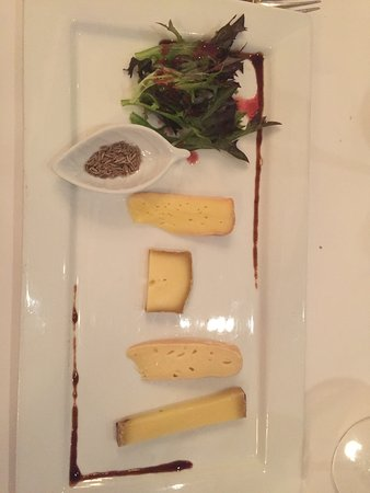 Saint Louis, France: The selection of cheeses