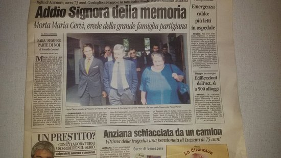 Gattatico, อิตาลี: Ritorno al museo Cervi