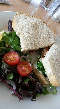 Fish goujon sandwich