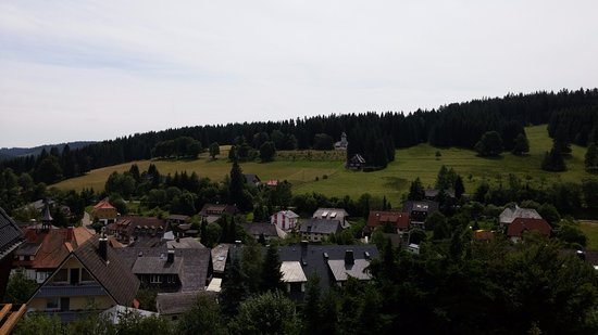Hotel Schlehdorn: Uitzicht Doppelzimmer Hüttenstil Deluxe