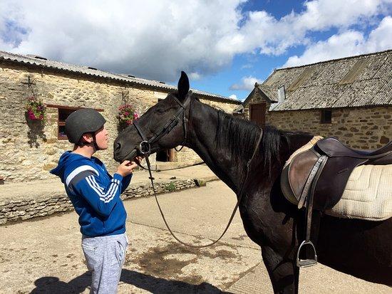 Hawnby, UK: Bilsdale Riding Centre