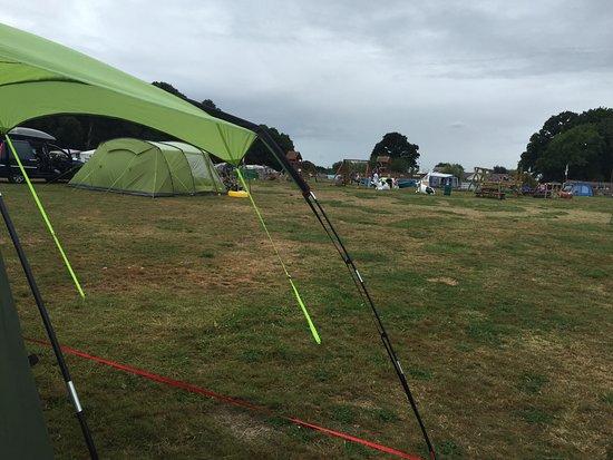 Henfield, UK : Blacklands Farm Campsite