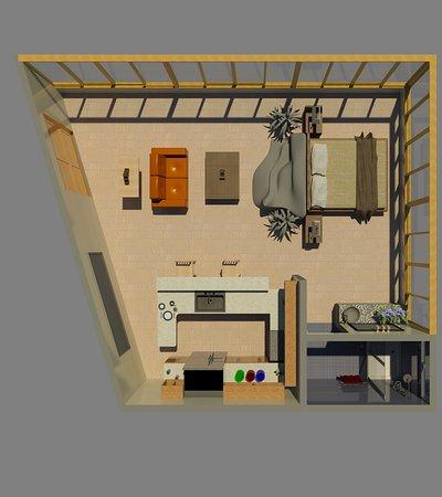 Condotel Las Cascadas: Floor Plan Penthouse