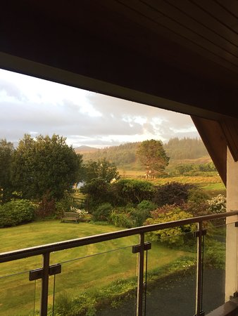 Pennyghael, UK: Unbelievable vies from the upstairs sitting room