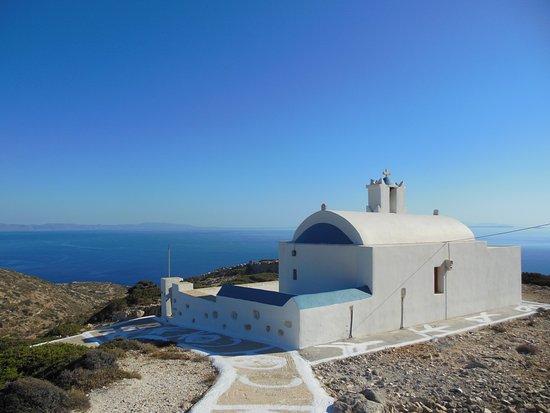 Donousa, Yunanistan: εκκλησάκι Αγίας Σοφίας