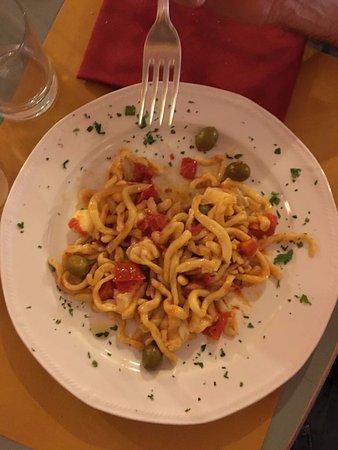 La Locanda di Desideria: pici pomodorini olive piccanti