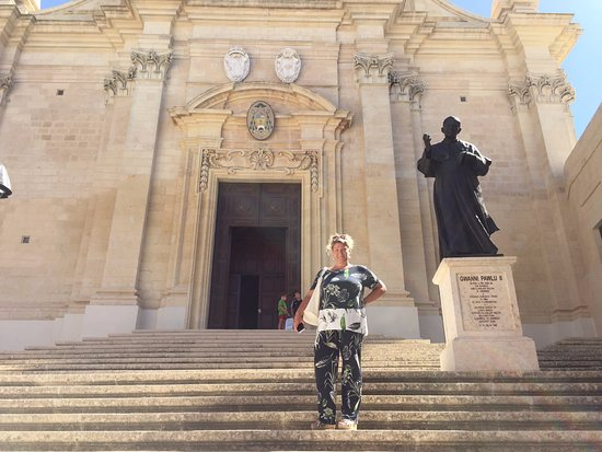 Victoria, Malta: An astonishing church inside the citadel