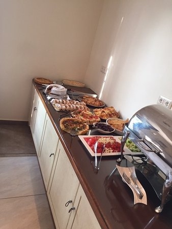 Aegean Land: Part of the complimentary breakfast buffet