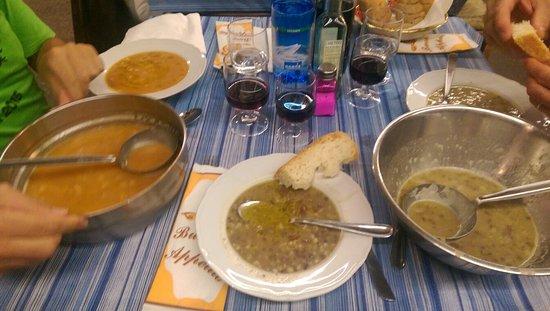 Radicofani, Italia: Ottime le zuppe. Tutte.