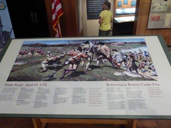Concord, MA: Battle Road Display
