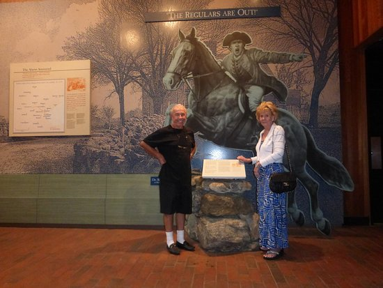 Battle Road Trail: Us And Paul Revere
