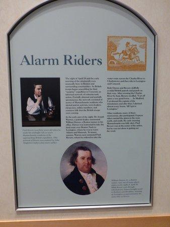 Concord, MA: Dedication To Paul Revere