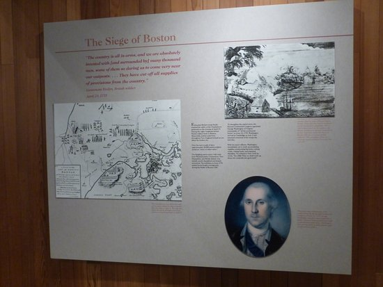 Battle Road Trail: Dedication To George Washington