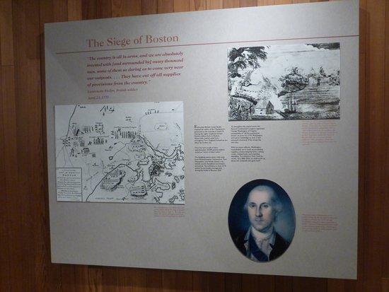Concord, MA: Dedication To George Washington