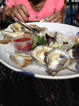 Quincy, MA: Outrageously overpriced oysters that had tiny hard shell pieces in them.