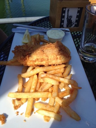 Quincy, MA: Excellent fried fish