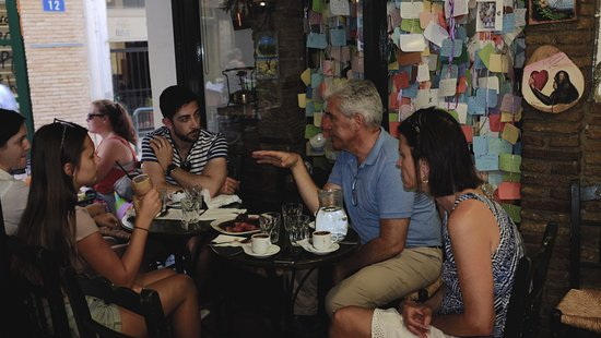Context Athens Tours : Starting over strong Turkish coffee in small cafe.