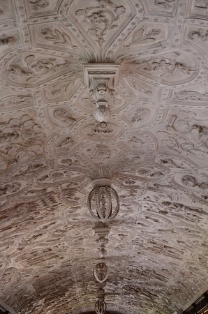 Bodmin, UK: check out the ceiling, you could spend a long time just looking at the detail